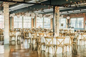 Industrial Reception Setup at Neo on Locust in St. Louis, Missouri