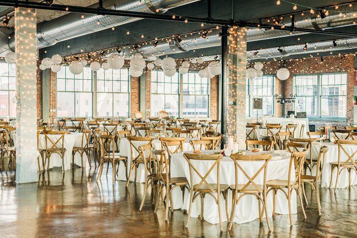Industrial Reception Setup at Neo on Locust in St. Louis, Missouri