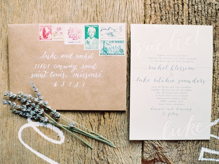 Wedding Invitations EcoFriendly Tips Tricks
