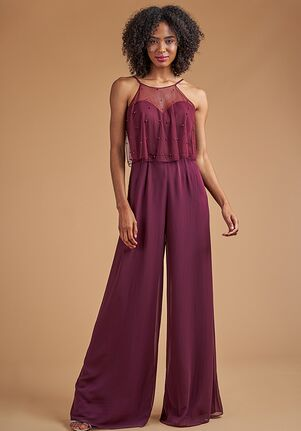 B2 Bridesmaids by Jasmine B223055 Halter Bridesmaid Dress