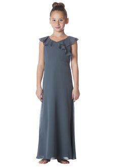 Bari Jay Bridesmaids 1753-JR V-Neck Bridesmaid Dress