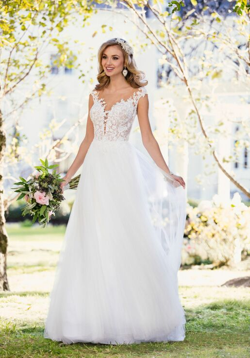 4b9972425349 Stella York 6490 Wedding Dress | The Knot