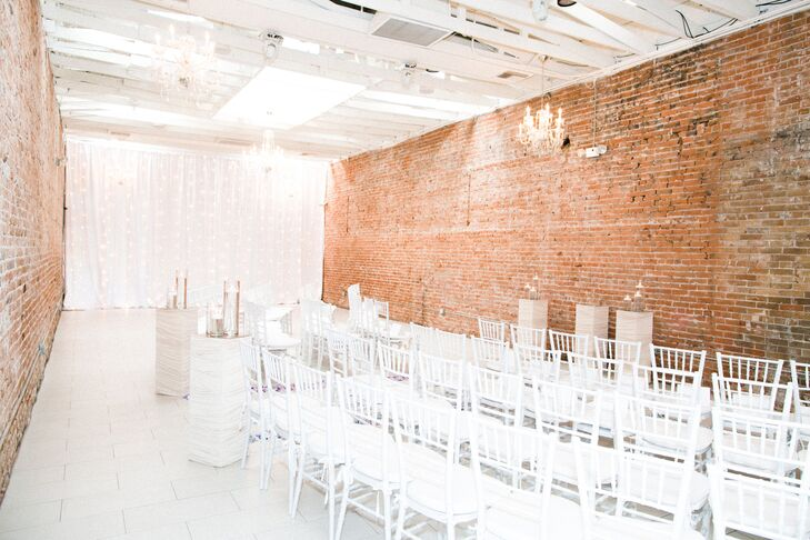 """The Phoenix LGBT Bridal and Honeymoon Expo helped Gloria and Jill find their wedding venue. """"We fell in love with how versatile Tre Bella in Mesa, Arizona, was. It was both rustic yet extremely elegant at the same time. The owner, Kim, and all her staff were so open and welcoming to us,"""" Jill says."""