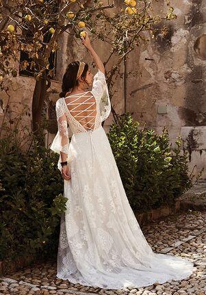 Lillian West 66064 A-Line Wedding Dress