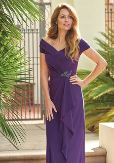 Jade Mother of the Bride by Jasmine J205057 Purple Mother Of The Bride Dress