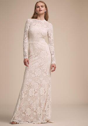 BHLDN Tenley Gown Sheath Wedding Dress