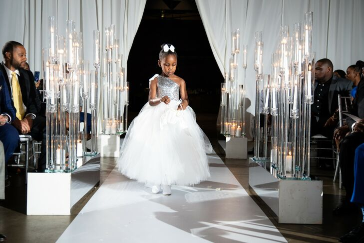 Flower Girl Processional at the Georgia Freight Depot in Atlanta