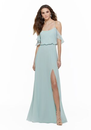 Morilee by Madeline Gardner Bridesmaids 21635 Off the Shoulder Bridesmaid Dress