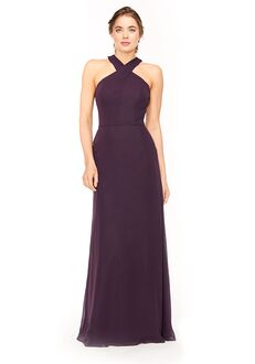 Bari Jay Bridesmaids 1971 Halter Bridesmaid Dress