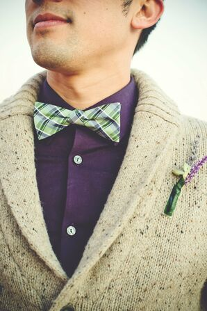 Purple and Mint Menswear