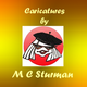 Caricatures by M C Sturman