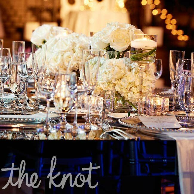 White and Crystal Decor