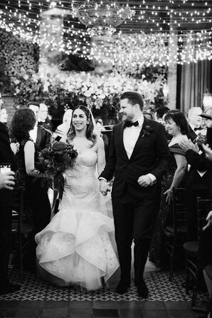 Romantic Recessional at The Bowery Hotel in New York City
