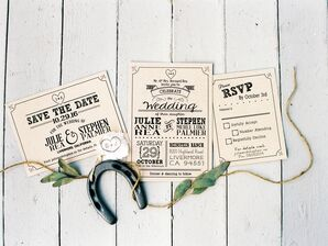 DIY Ranch-Inspired Invitation Suite