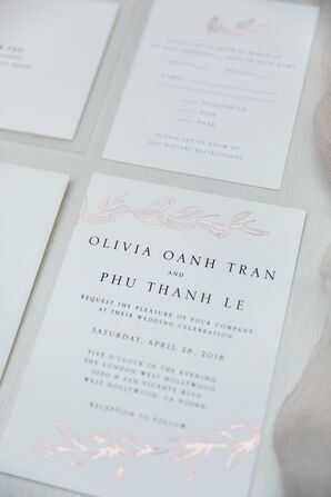 Black and White Invitation with Simple Typography