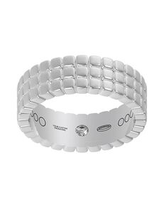 Everband 6 mm Tri Piazza Gold, Platinum, White Gold, Rose Gold Wedding Ring