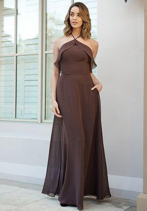 B2 Bridesmaids by Jasmine B233058 Halter Bridesmaid Dress