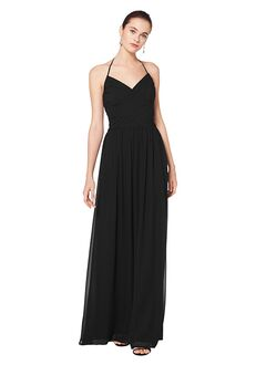 Bill Levkoff 7076 V-Neck Bridesmaid Dress