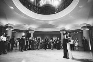 First Dance at the Museum of Fine Arts in Boston, Massachusetts