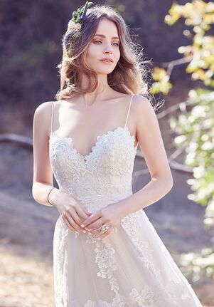 Maggie Sottero Emily A-Line Wedding Dress