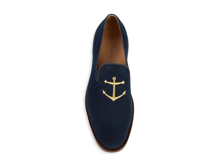 Anchor men's beach wedding shoes
