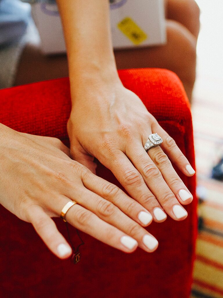 Natural-Looking Nail Ideas for Your Wedding Day