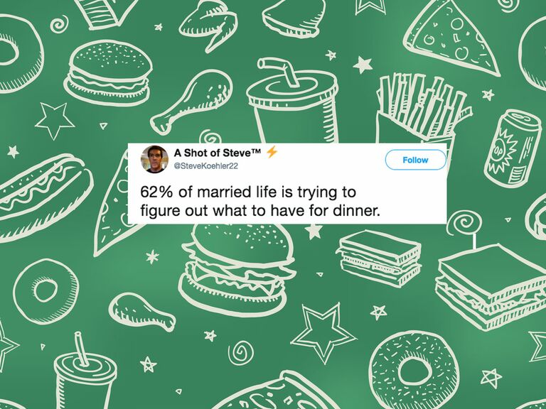 Funny and relatable marriage tweet