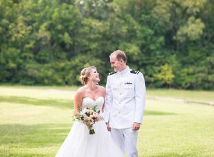 High school sweethearts Morgan Lehr (22 and a teacher) and Park Seagraves (23 and a naval officer) embraced the great outdoors and their adventurous s