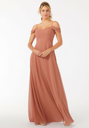 Morilee by Madeline Gardner Bridesmaids 21703 - Morilee by Madeline Gardner Bridesmaids Off the Shoulder Bridesmaid Dress