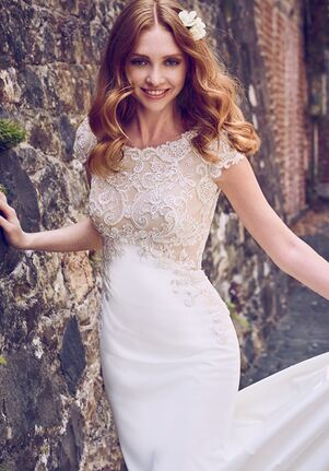 Maggie Sottero Odette Marie Sheath Wedding Dress
