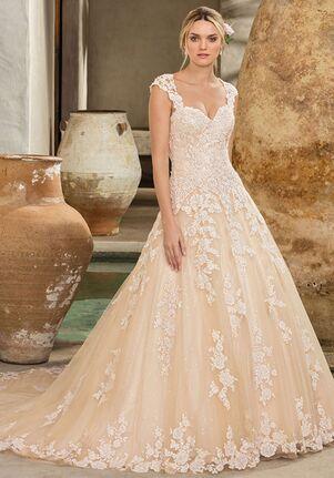 af54f113599 Casablanca Bridal Style 2289 Amber A-Line Wedding Dress