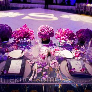 Purple Sweetheart Table