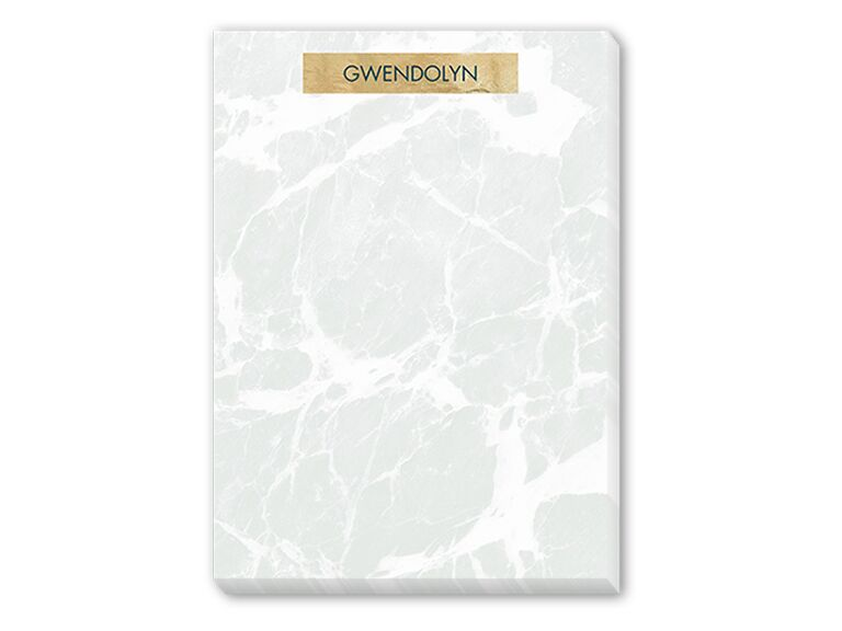 Marble notepad daughter-in-law gift