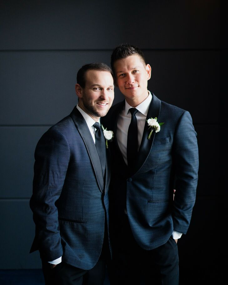 Same-Sex Couple Portraits at the Hotel Van Zandt in Austin, Texas
