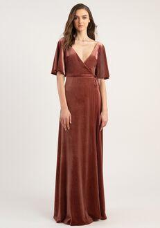 Jenny Yoo Collection (Maids) Marin V-Neck Bridesmaid Dress
