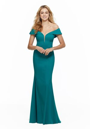 Morilee by Madeline Gardner Bridesmaids 21636 V-Neck Bridesmaid Dress