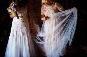 Customized Chiffon Gown