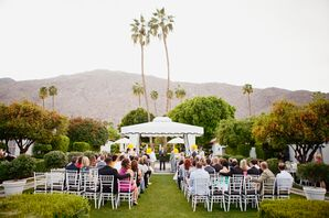 White Canopy and Chiavari Chairs