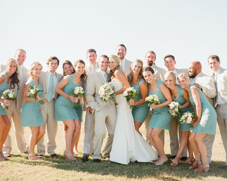 Beach Wedding Party Attire