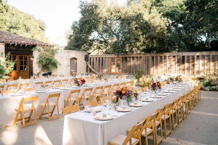 Holman Ranch Rose Patio Reception
