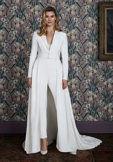 Justin Alexander Signature Tatum Jumpsuit Wedding Dress
