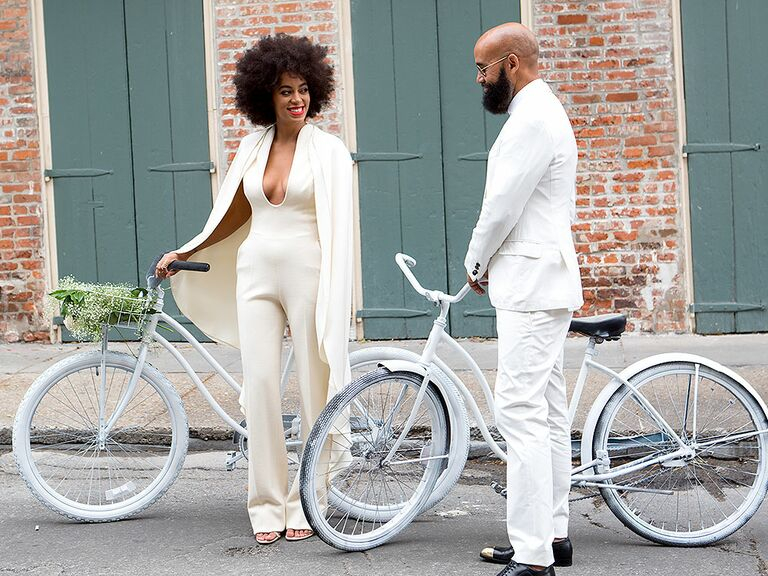 Solange Knowles Wedding Dress