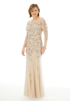 MGNY 72223 Champagne,Gray Mother Of The Bride Dress