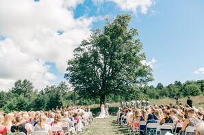 Rustic Ceremony in Houghton, Michigan