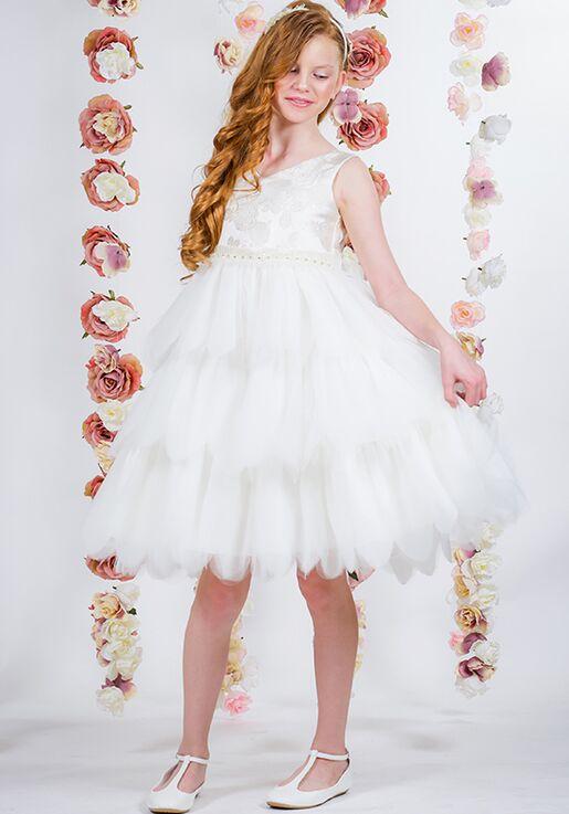 Kid's Dream 412 Pink Flower Girl Dress