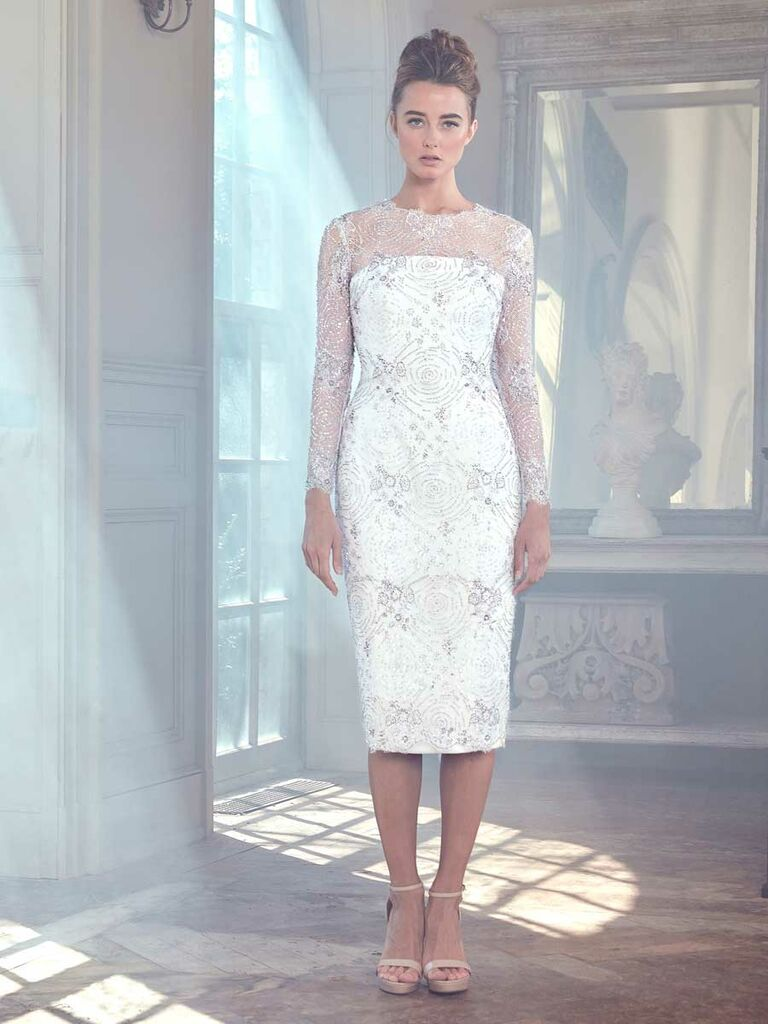 Outstanding Amsale Wedding Dress Crest - All Wedding Dresses ...