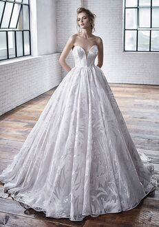 Badgley Mischka Bride Carrington Ball Gown Wedding Dress