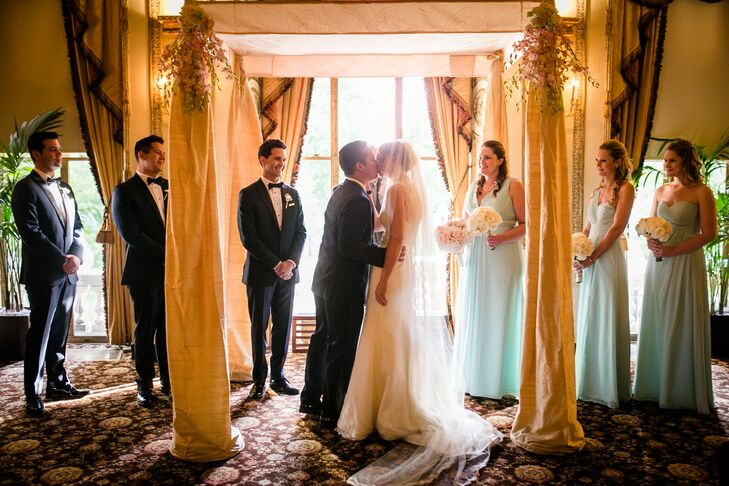 Intimate Langham Hotel Wedding Ceremony