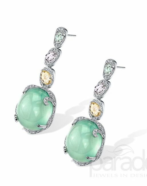 Parade Designs E3265A from the Parade in Color Collection Wedding Earrings photo