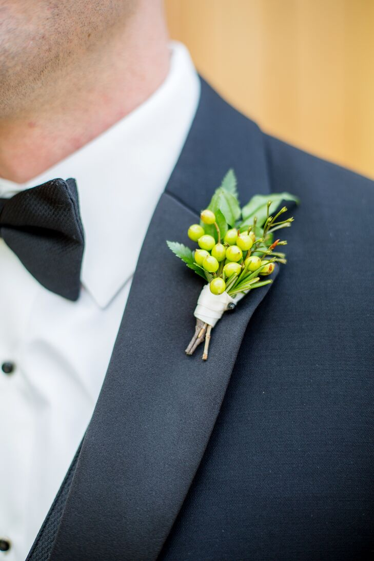 Juniper Berry Boutonniere